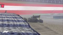 F1 GP Stiria 2020, Red Bull Ring: l'incidente di Daniel Ricciardo (Renault) nelle PL2