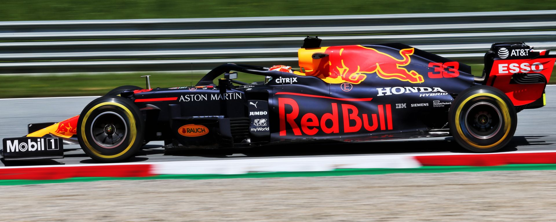 F1 GP Stiria 2020, Red Bull Ring: Max Verstappen (Red Bull)