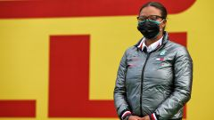 F1 GP Stiria 2020, Red Bull Ring: Stephanie Travers sul podio