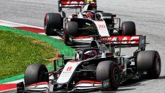 F1 GP Stiria 2020, Spielberg: Romain Grosjean e Kevin Magnussen (Haas F1 Team)