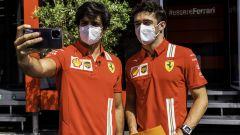 F1, GP Stiria 2021: Carlitos e Charles Leclick