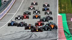F1, GP Stiria 2021: la partenza della gara