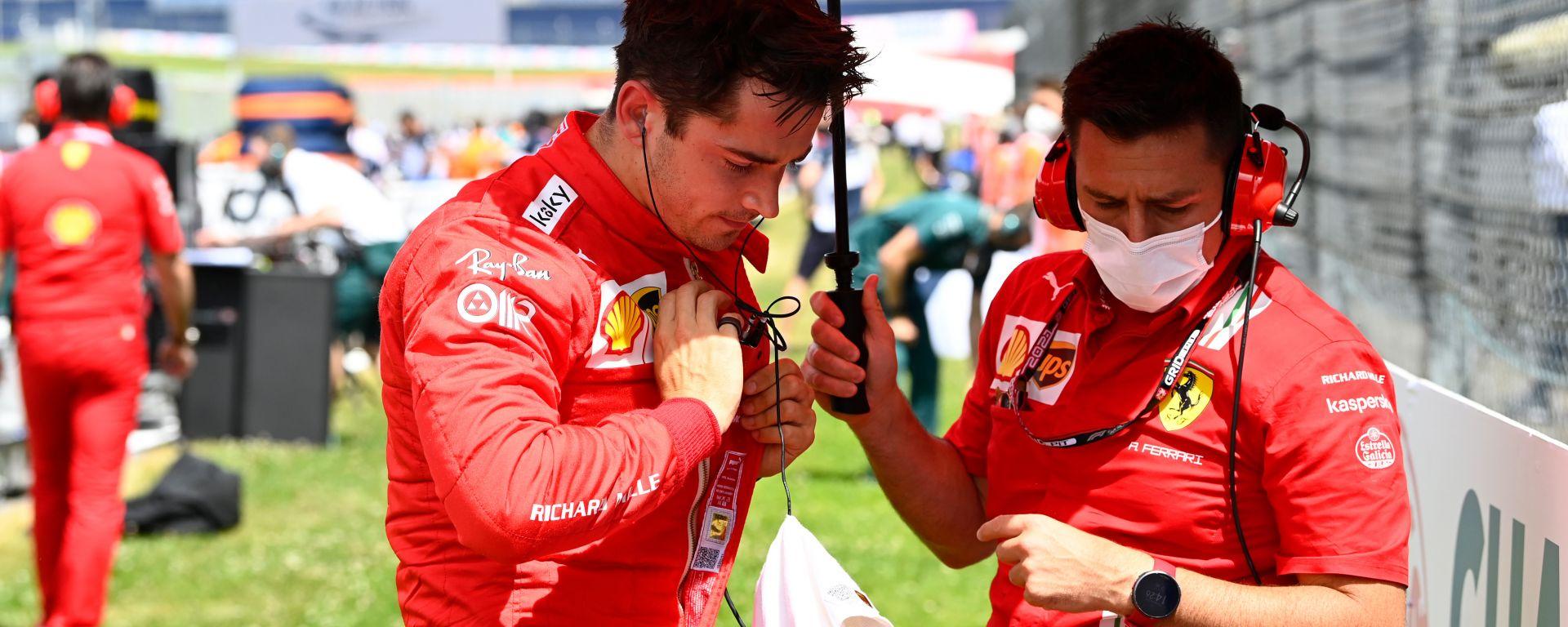 F1 GP Stiria 2021, Spielberg: Charles Leclerc (Scuderia Ferrari)