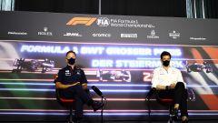 F1 GP Stiria 2021, Spielberg: Christian Horner (Red Bull) e Toto Wolff (Mercedes) in conferenza stampa