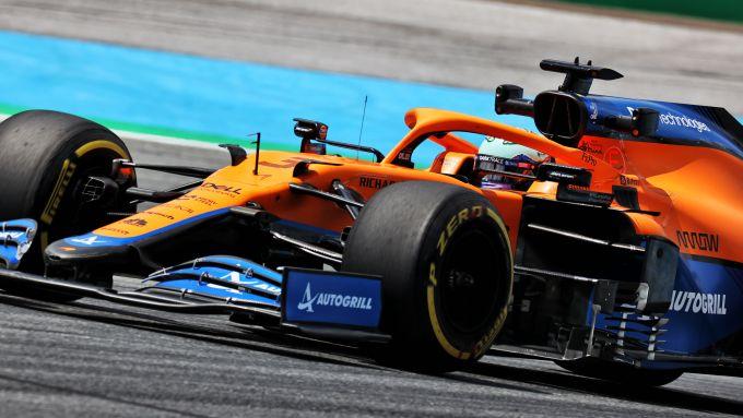 F1 GP Stiria 2021, Spielberg: Daniel Ricciardo (McLaren F1 team)