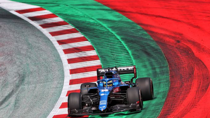 F1 GP Stiria 2021, Spielberg, Fernando Alonso (Alpine)