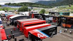 F1 GP Stiria 2021, Spielberg: il paddock del Red Bull Ring