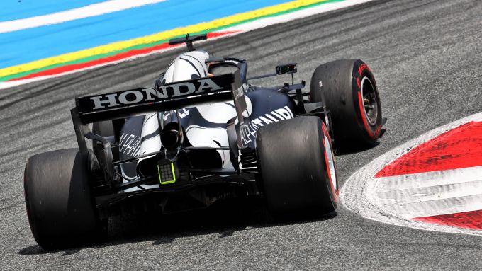 F1 GP Stiria 2021, Spielberg: Yuki Tsunoda (Scuderia AlphaTauri)