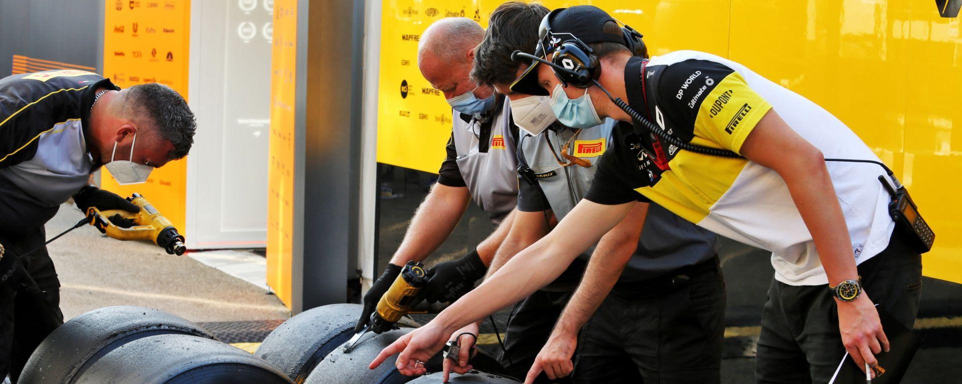 F1, GP Toscana 2020: controlli sugli pneumatici Pirelli
