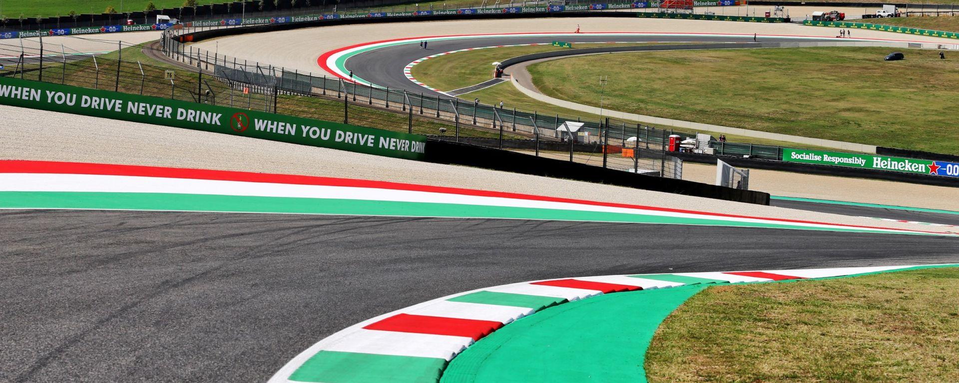 F1, GP Toscana 2020: la spettacolare sequenza delle curve Casanova e Savelli sul circuito del Mugello