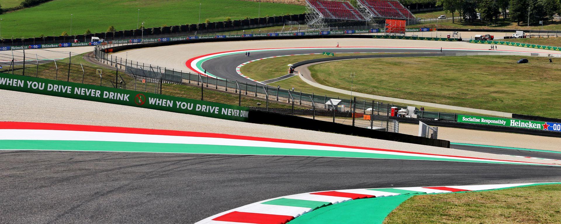 F1 GP Toscana 2020, Mugello: Atmosfera del circuito