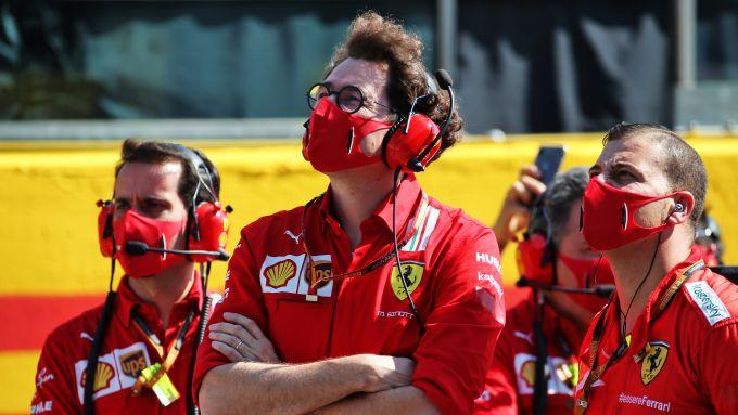 F1 GP Toscana 2020, Mugello: il team principal della Scuderia Ferrari, Mattia Binotto