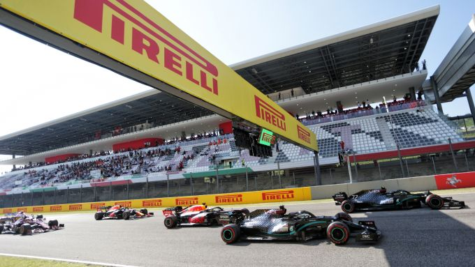 F1 GP Toscana 2020, Mugello: la partenza della gara