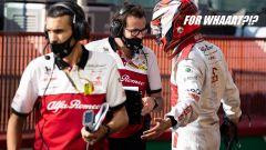 F1, GP Toscana 2020: un pacato Raikkonen chiede ancora spiegazioni per i 5 secondi di penalità
