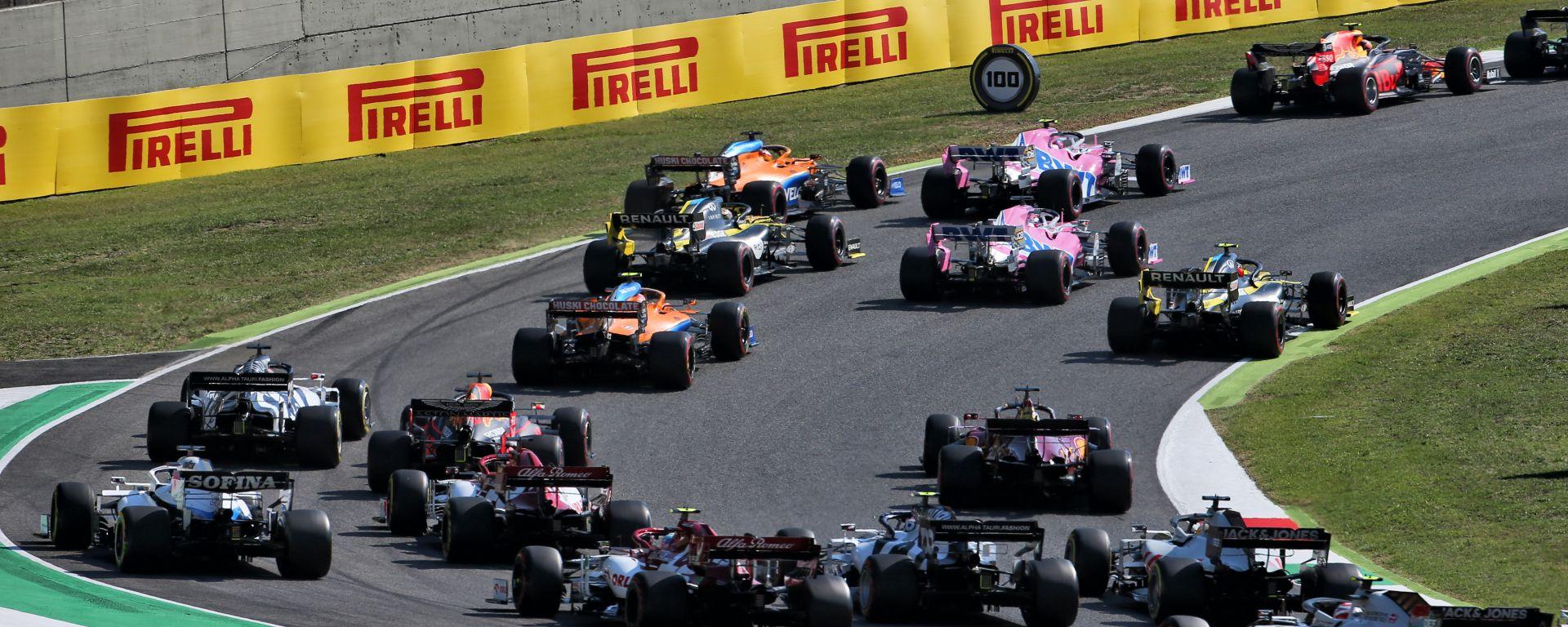 F1 GP Toscana Ferrari 1000, Mugello: la partenza della gara