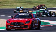 F1 GP Toscana Ferrari 1000, Mugello: la Safety Car Mercedes rossa alla guida del gruppo