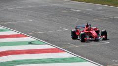 F1 GP Toscana Ferrari 1000, Mugello: Mick Schumacher al volante della Ferrari F2004 di papà Michael