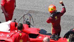 F1 GP Toscana Ferrari 1000, Mugello: Mick Schumacher dopo il giro sulla Ferrari F2004
