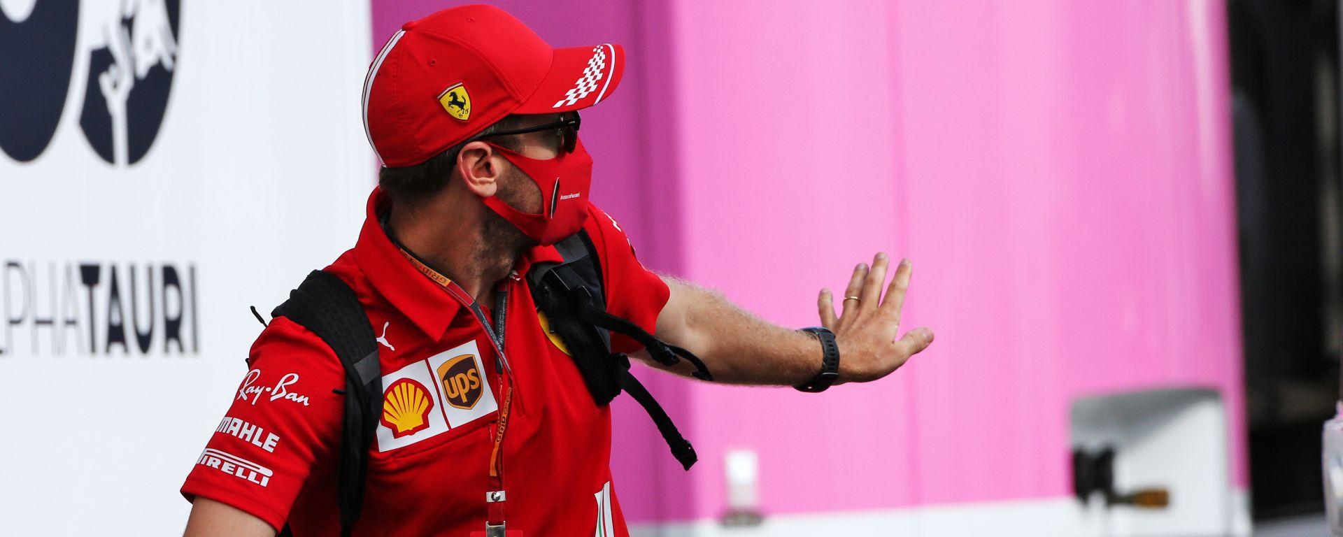 F1, GP Toscana Ferrari 1000: Sebastian Vettel (Ferrari)