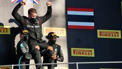 F1, GP Toscana: festa Mercedes sul podio