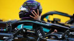 F1, GP Toscana: Lewis Hamilton (Mercedes) al termine della gara