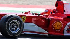 F1, GP Toscana: Mick Schumacher al volante della Ferrari F2004 del padre Michael