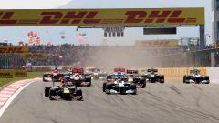 F1 GP Turchia 2011, Istanbul: la partenza della gara
