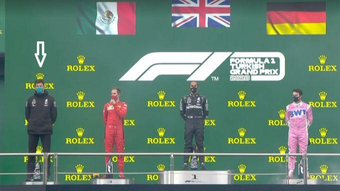F1, GP Turchia 2020: il confusissimo podio con re ToTroll