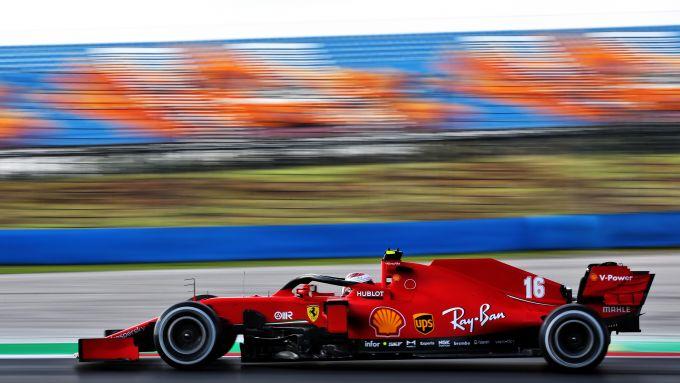 F1 GP Turchia 2020, Istanbul: Charles Leclerc (Scuderia Ferrari)