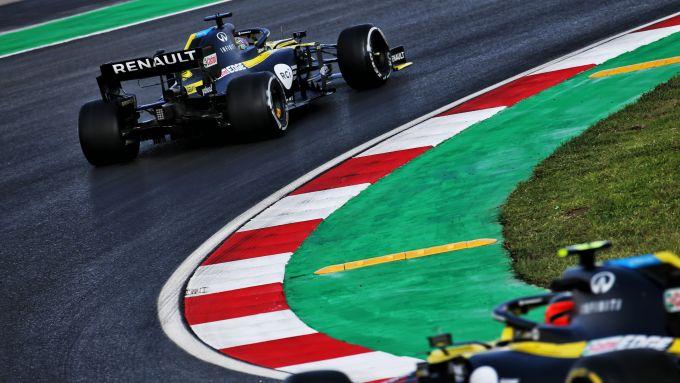 F1 GP Turchia 2020, Istanbul: Daniel Ricciardo ed Esteban Ocon (Renault Sport F1)