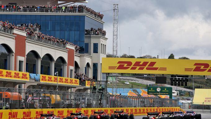 F1 GP Turchia 2020, Istanbul: la griglia di partenza
