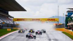 F1 GP Turchia 2020, Istanbul: la partenza della gara