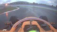 F1 GP Turchia 2020, Istanbul: Lando Norris (McLaren) non rispetta le doppie bandiere gialle in Q1