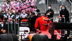 F1 GP Turchia 2020, Istanbul: Sebastian Vettel (Scuderia Ferrari) dopo il traguardo