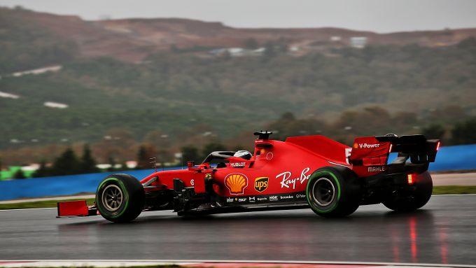 F1 GP Turchia 2020, Istanbul: Sebastian Vettel (Scuderia Ferrari)