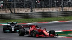 Ferrari tra progressi del motore e problemi al pit stop