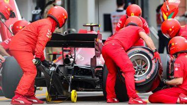 F1, GP Turchia 2021: il pit stop di Sainz