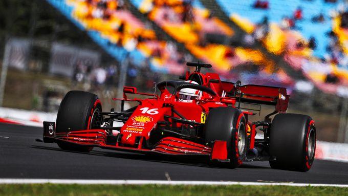 F1 GP Turchia 2021, Istanbul: Charles Leclerc (Scuderia Ferrari)