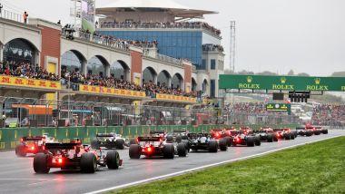 F1 GP Turchia 2021, Istanbul: il fondo della griglia di partenza