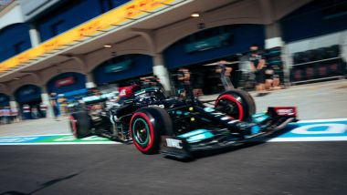 F1 GP Turchia 2021, Istanbul: Lewis Hamilton (Mercedes AMG F1)