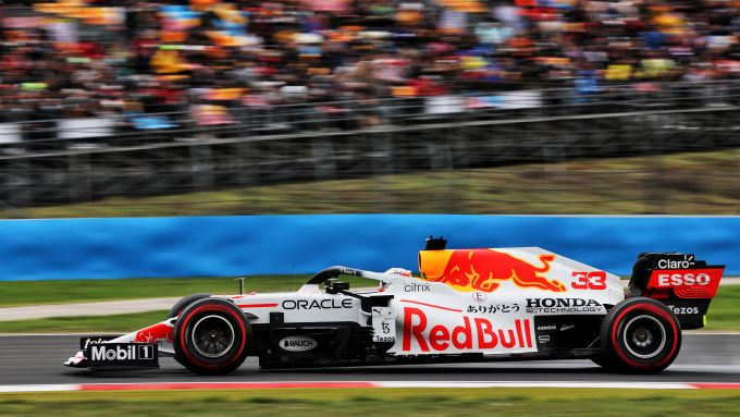 F1 GP Turchia 2021, Istanbul: Max Verstappen (Red Bull Racing)