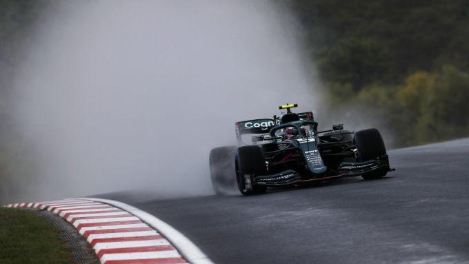 F1 GP Turchia 2021, Istanbul: Sebastian Vettel (Aston Martin Racing)