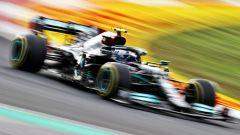F1 GP Turchia 2021, Qualifiche: Hamilton 1° ma in pole c'è Bottas