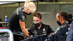 Mercedes: i motivi del cambio parziale del motore di Hamilton