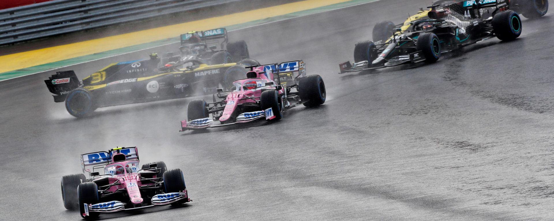 F1, GP Turchia: la prima curva
