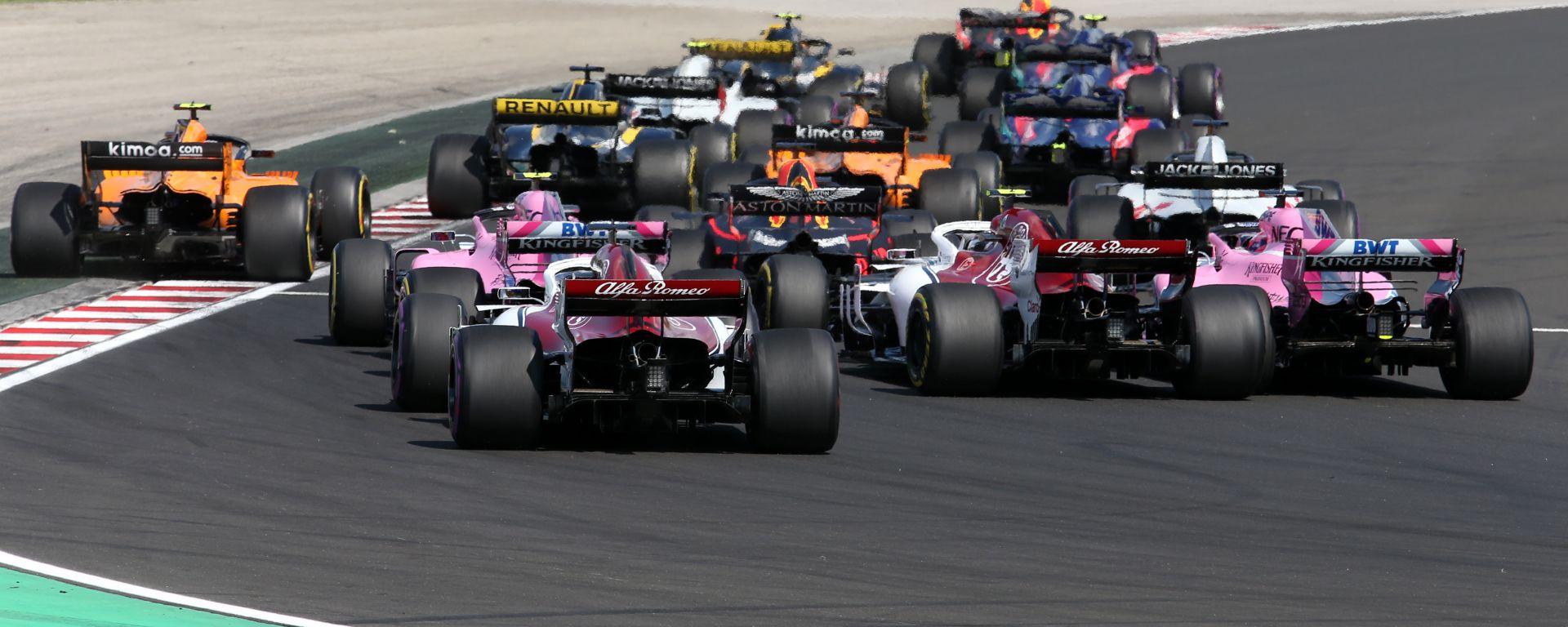 F1 GP Ungheria 2019, Budapest: la partenza della gara