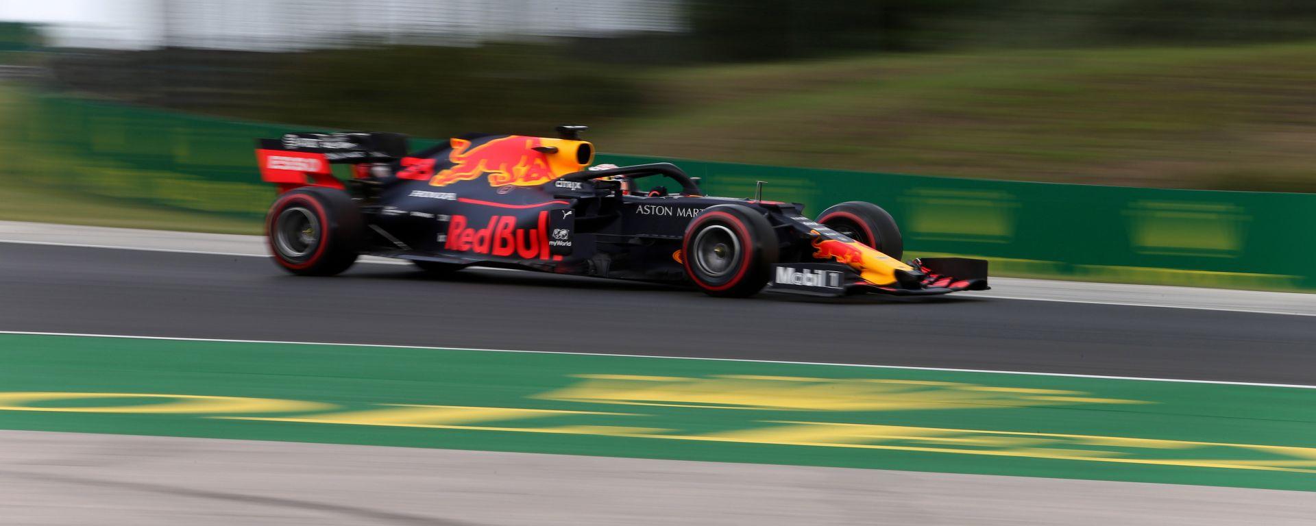 F1 GP Ungheria 2019, Budapest: Max Verstappen (Red Bull) è in pole position per la prima volta in carriera