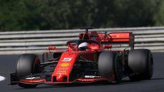 F1 GP Ungheria 2019, Budapest: Sebastian Vettel (Ferrari)