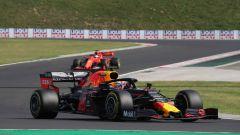 F1 GP Ungheria 2019, Budapest: Sebastian Vettel insegue la Red Bull di Max Verstappen