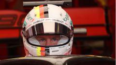 F1 GP Ungheria 2019, Budapest: tutta la concentrazione di Vettel (Ferrari) prima delle qualifiche